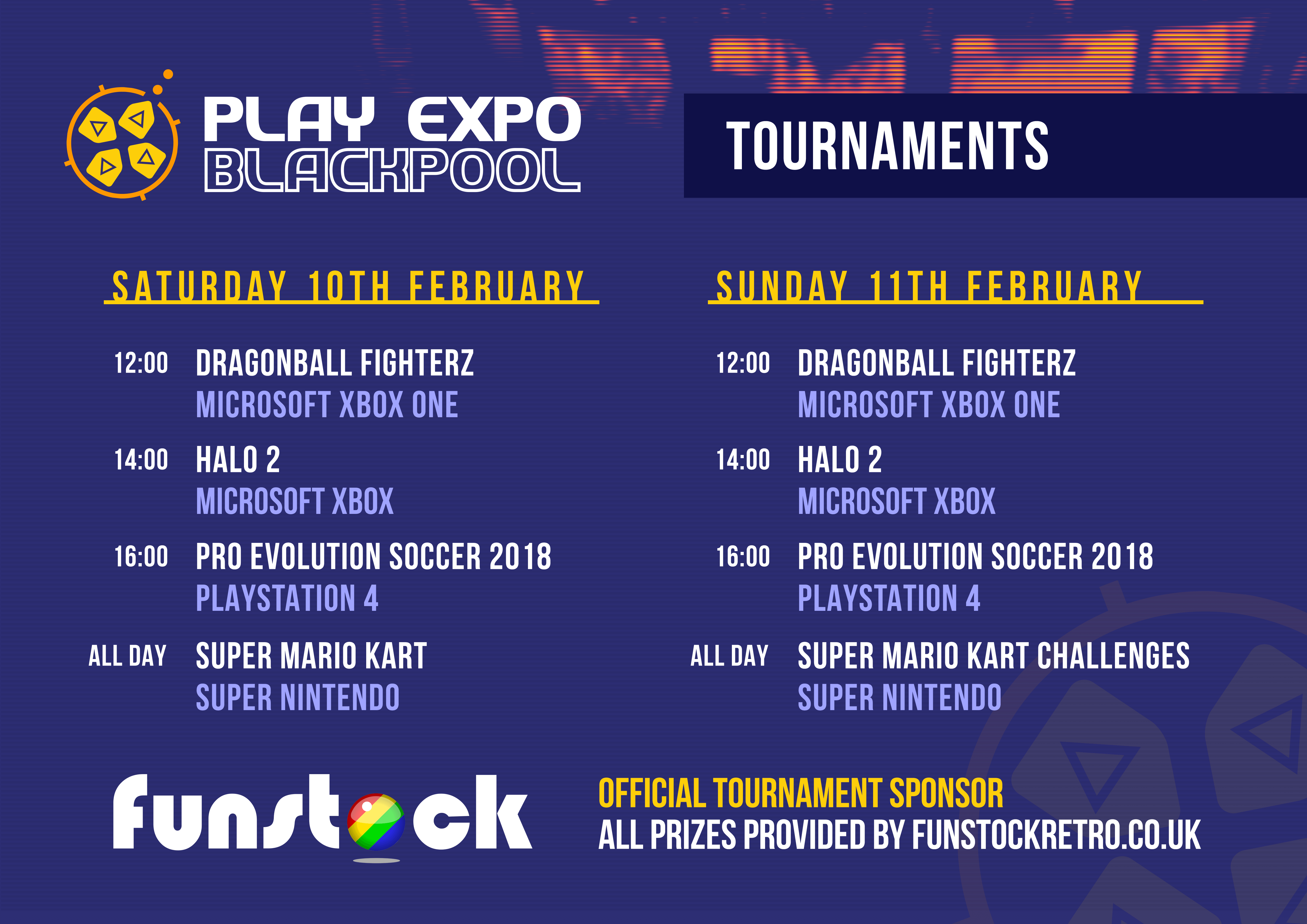 RE PlayExpo Blackpool18 Schedule Talks